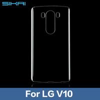 2015 Newest Soft Transparent TPU Gel Cover Case Skin For LG V10 Clear Case