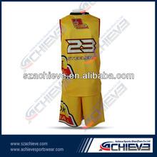 polyester basketball uniform fitness sport clothing
