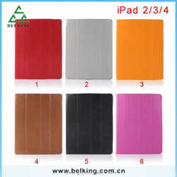 Wholesale for ipad 2/3/4 Smart Stand Leather Case