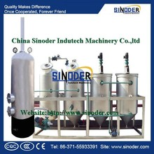 SINODER soyabean oil /sunflower oil production line/vegetable cooking oil production line machine