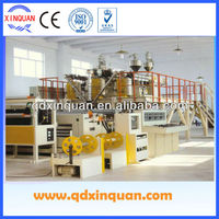 PE PP PC PET single-layer cast embossed film making machine