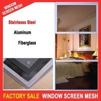 unbreakable stainless steel security window screen mesh
