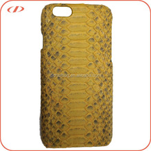 Luxury quality exotic real python leather case for iPhone 6S