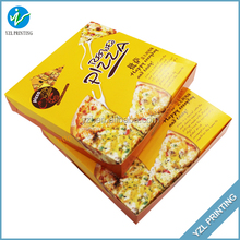 Recyclable custom foldable kraft paper box for food package