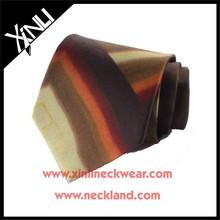 Novelty Design Mens 100% Silk Custom Tie Digital Print of Necktie