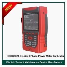 HDGC3521 On-site Three-phase Power Meter Calibrator