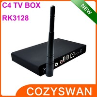 C4 TV BOX media streamer UHD Android tv box HD 1080P