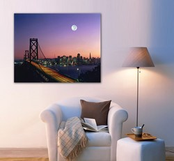 City Skyline of Posters, Bridge design of wall papers, night view design of posters