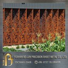 China suppliers new sheet metal products customized decorative laser cut outdoor screen