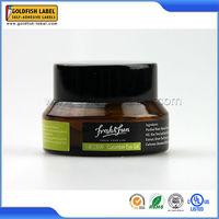 Custom design pharmaceutical pill bottles labels and sticker