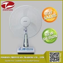 Ventilador de escritorio ventilador zy-dc408 camping recargable de la batería