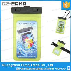 5 Inch Screen China Manufactory Custom pvc phone Waterproof Case Bag With Armband
