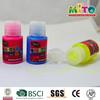 MTJFJ-5512BX2 neon stationery glitter glue bottle