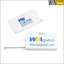 2 mts herramienta manual mini cinta metrica carpintería con nivel de agua