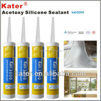 Transparent Acetoxy Multipurpose Silicone Sealant