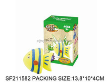 N+New item---Color clay.Children DIY playing set. Mud fish color clay.SF211582