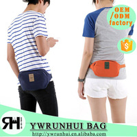 Wholesale Fashion Leisure Waist Bag For Passport & Money & Tickets Fanny Pack Small size