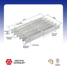 standard steel grating panel