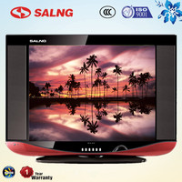 Low price/Rotating base/17 inch/normal flat/crt color tv with tube/CCC/ISO