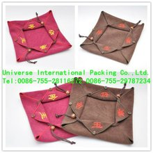 2012 hot sale satin bag,small flip gift pouch