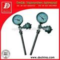 industrial termómetro bimetálico con resistencia de platino