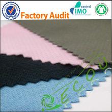 de nylon del algodón de cáñamo mezcla de tela para ropa deportiva