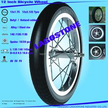 12 Inch Bicycle wheel (12x2.125 , 12x1.75)