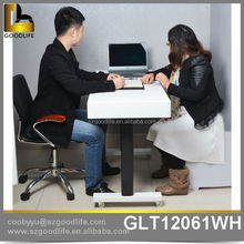 Professional wooden study table design automatic up and down from china factory