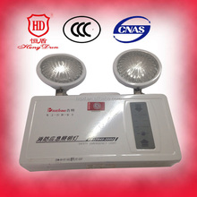 LED Two Head Emergency Light with Battery Back-up White