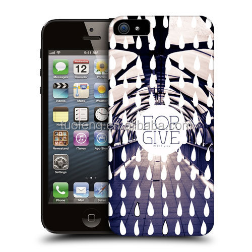 For iphone 5s case water transfer printing cases