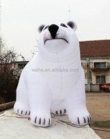 inflatable polar bear, inflatable animals, big balloons