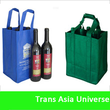 2014 Hot Sell Recycled Laminated Non-Woven Custom Tote Bag