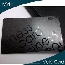 2015 new product matt american express credit card size metal business card black