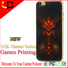 New league of legends printing fancy mobile phone case for HTC
