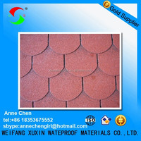 coloured asphalt shingles roof coating