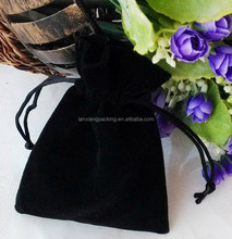 Black Velvet Gift Bag Pouch/Jewelry Pouch