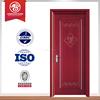 hot sale modern solid wood door, modern wood door with glass, sliding wood door