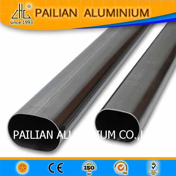 En aluminium carré/rond/ovale tube d'extrusion profil usine ont stock!!!