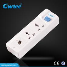 gwtee New Design multifunction USB Wall Socket