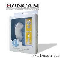 for wii nunchuk and remote controller two in one pack
