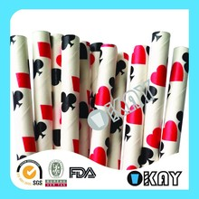 Casino Card Paper Straws Playing Cards Paper Straws We Love