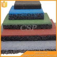 Gold Supplier factory cheap price outdoor rubber driveway mats