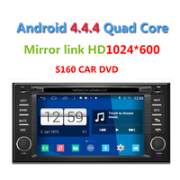 Android 4.4.4 Car DVD PLAYER for S UBARU Forester with Wifi GPS Quad Core 1.4Ghz 1024*600HD support Camera/DVR