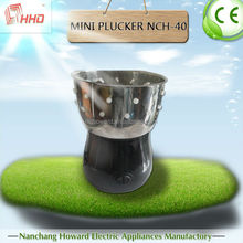 automatic quail plucker machine farm equipment slaughter rubber finger for sale nch-40