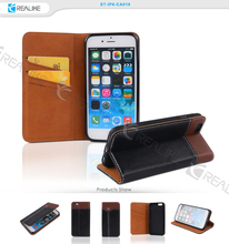 2015 luxury genuine leather mobile phone case for iphone 6s plus