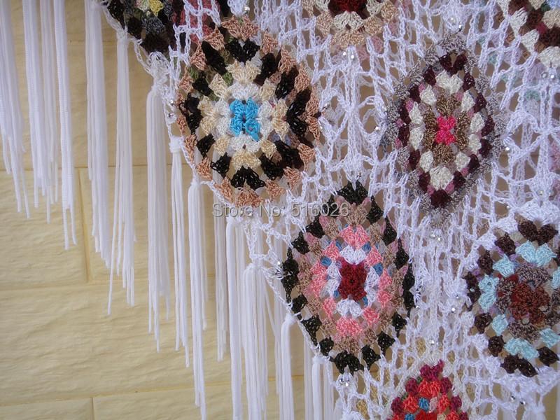 Crochet Patterns For Granny Square Poncho : Granny Square Pattern Crochet Poncho images