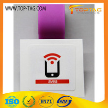 Custom Printable Waterproof Small Encoding 13.56Mhz Nfc Rfid Sticker