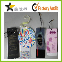 2015 High quality custom hang tag with hang tag ties,hang tag fastener,thread for hang tag