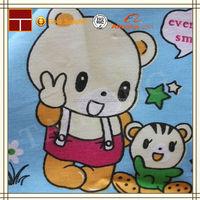 fashion twill custom design printed cotton fabric for kids