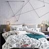 100% cotton pigment print new design fresh flower elegant european style bed sheet